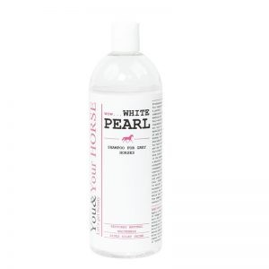 Szampon dla koni o jasnej sierści White Pearl