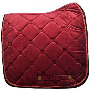 Czerwony ujeżdżeniowy czaprak Royal