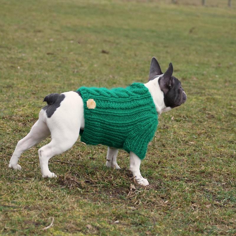 Ubranie dla buldoga francuskiego, sweterek dla buldoga francuskiego