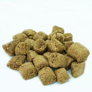 naturalne smakołyki dla koni, dyniowe