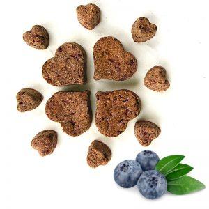 naturalne smakołyki dla koni, jagodowe