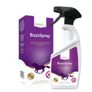 HorseLinePro BuzzSpray odstraszanie owadów