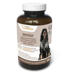 Canifelox Senior, łagodzi dolegliwości u starszych psów